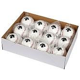 [S6124WEQ01] 데상트 캐치볼용 야구공 1타 (12개)