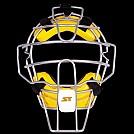 스톰 2020 초경량 알로이 포수마스크 (노랑)