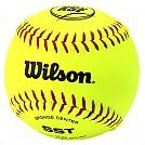 [A9117TK] 윌슨 12인치 KSF OFFICIAL BALL 소프트볼공 (안전공)